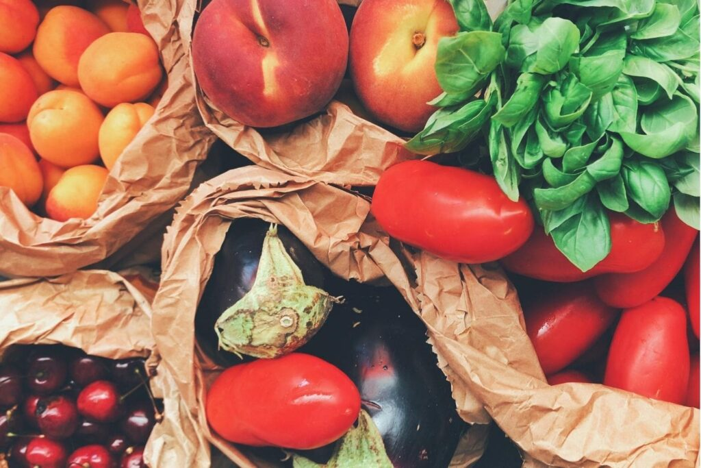 Tomato, Apple, Vegetable